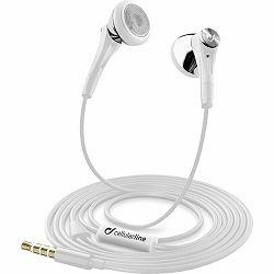 Slušalice CELULARLINE Firefly bijele