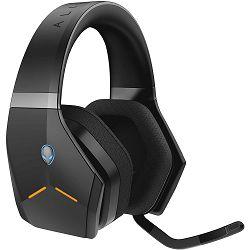 Slušalice s mikrofonom DELL ALIENWARE AW988, gaming crne (bežične)