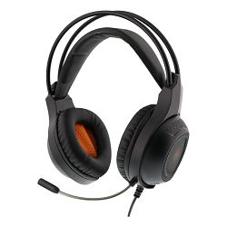 Slušalice s mikrofonom DELTACO GAM-069, gaming PC,MAC,PS4,XBOX one, mobile, 3.5mm