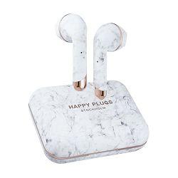 Slušalice HAPPY PLUGS AIR1 PLUS EARBUD bijelo mramorne (bežične)