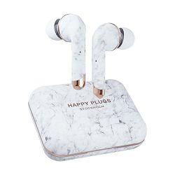 Slušalice HAPPY PLUGS AIR1 PLUS IN-EAR bijelo mramorne (bežične)