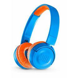 Slušalice JBL JR300BT dječje plavo-narančaste (bežične)
