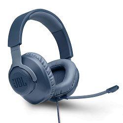 Slušalice s mikrofonom JBL QUANTUM 100, 3.5mm, plave