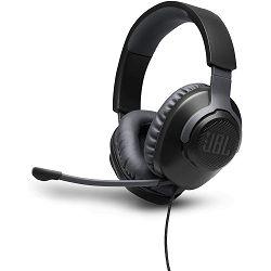 Slušalice s mikrofonom JBL QUANTUM 100, 3.5mm, crne