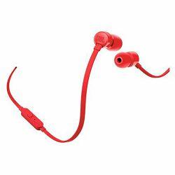 Slušalice JBL T110 crvene