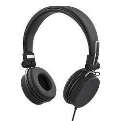 Slušalice s mikrofonom STREETZ HL-W200 crne