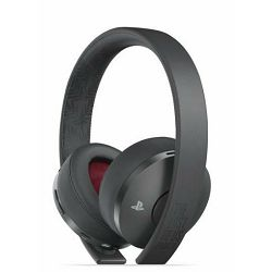 Slušalice PS4 Wireless Gold Headset Black The Last of Us Part II Limited Edition