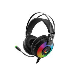 Slušalice RAMPAGE ALPHA-X 7.1 Surround Sound PC/PS4/XBOX s mikrofonom