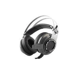 Slušalice RAMPAGE SNOPY SN-RW3 s mikrofonom sive (2x3.5mm + USB)