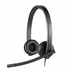 Slušalice s mikrofonom LOGITECH H570e Stereo  USB
