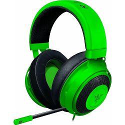 Slušalice s mikrofonom RAZER Kraken - Multi-Platform, gaming, 3.5mm - zelene