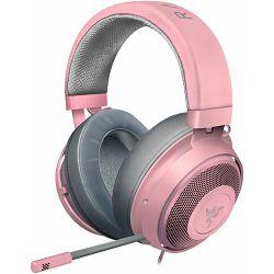 Slušalice s mikrofonom RAZER Kraken - Multi-Platform Wired Gaming 3.5mm roze