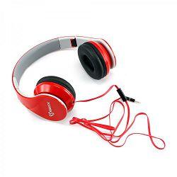 Slušalice s mikrofonom SBOX HS-501 crvene