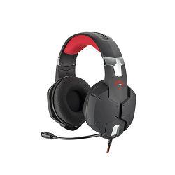 Slušalice s mikrofonom TRUST GXT322 Carus žičane crne