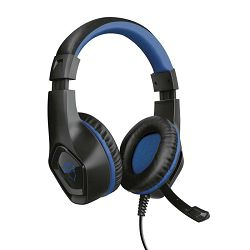 Slušalice s mikrofonom TRUST RANA PS4 gaming, GXT 404B, 3.5mm, plave