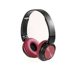 Slušalice s mikrofonom VIVANCO Bluetooth Mooove Air crvene (bežične)