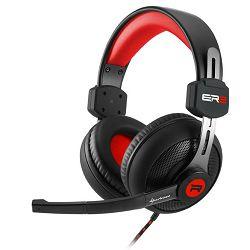 Slušalice SHARKOON Rush ER2 3.5mm crno-crvene