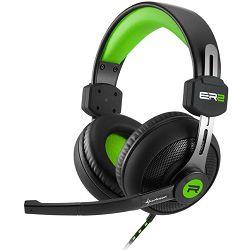Slušalice SHARKOON Rush ER2 3.5mm crno-zelene
