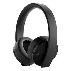 Slušalice SONY PS4 Wireless gold stereo headset black