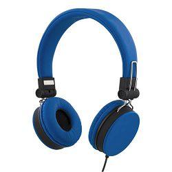 Slušalice s mikrofonom STREETZ HL-W201 plave