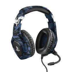 Slušalice s mikrofonom TRUST GXT 488 Forze-B PS4 Gaming, PlayStation® official licensed product, 3.5mm - plave