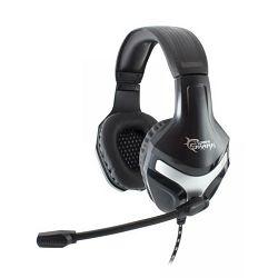 Slušalice s mikrofonom WHITE SHARK GH-101 LYNX, PC/PS4, 3.5mm, crne