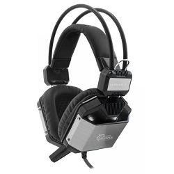 Slušalice s mikrofonom WHITE SHARK GH-1646 JAGUAR-7.1 USB, PC/Mac, crno / srebrne