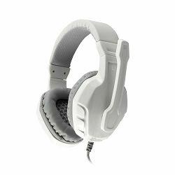 Slušalice WHITE SHARK GHS-1641 PANTHER bijelo/srebrne