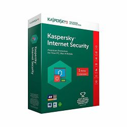 Software KASPERSKY Internet Security 3D 1y renewal