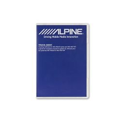 Software za kamione ALPINE TruckingSW G500 ( INE-W92xR INE-W977BT)