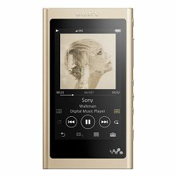 Sony walkman NW-A55L, USB/Bluetooth/NFC, zlatni
