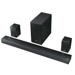 Soundbar SAMSUNG HW-Q90R (Bluetooth, Wi-Fi, wireless subwoofer)
