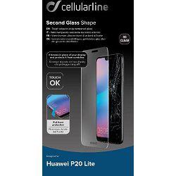 Staklo zaštitno CELLULARLINE za HUAWEI P20 LITE prozirno