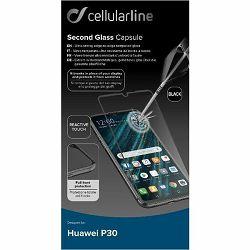 Staklo zaštitno CELLULARLINE za HUAWEI P30 crno