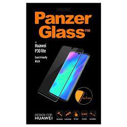 Staklo zaštitno PANZER GLASS za HUAWEI P30 LITE CF crno