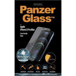 Staklo zaštitno PANZERGLASS za iPHONE 12 /12 PRO MAX crno