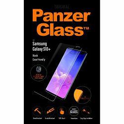 Staklo zaštitno PANZER GLASS za SAMSUNG S10+ crno (CF,FP)