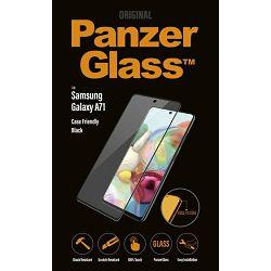 Staklo zaštitno PANZER GLASS za SAMSUNG A71 crno CF