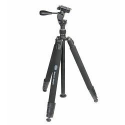 Stativ za fotoaparat BILORA Black Magic II 178cm 5kg aluminijski tripod + pan head (1131)