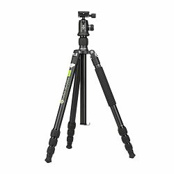 Stativ za fotoapat GENESIS Base A3 KIT 180.8cm 12kg sivi + BH-34 ball head