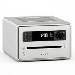 Stolni radio SONORO CD2 bijeli (CD, Bluetooth, USB, AUX, FM/DAB/DAB+)