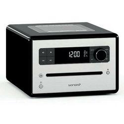 Stolni radio SONORO CD2 crni (CD, Bluetooth, USB, AUX, FM/DAB/DAB+)