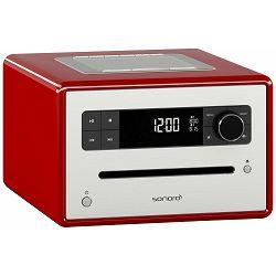 Stolni radio SONORO CD2 crveni (CD, Bluetooth, USB, AUX, FM/DAB/DAB+)
