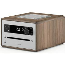 Stolni radio SONORO CD2 walnut (CD, Bluetooth, USB, AUX, FM/DAB/DAB+)