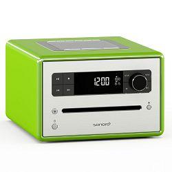 Stolni radio SONORO CD2 zeleni (CD, Bluetooth, USB, AUX, FM/DAB/DAB+)