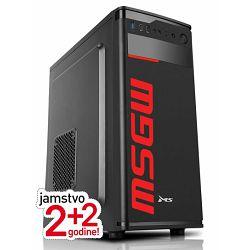 Stolno računalo MSGW Basic i212 (intel Pentium Gold G6400, BGB RAM, 240GB SSD, Intel UHD 610, FreeDOS)