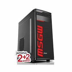 Stolno računalo MSGW Basic i213 (Intel Pentium Gold G6400, 8GB RAM, 480GB SSD, Intel UHD 610; FreeDOS)
