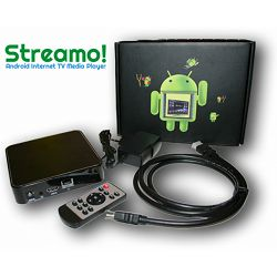 Media player STREAMO! TV Box A9 4.0