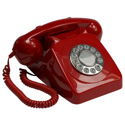 Telefon GPO RETRO 746 PB crveni
