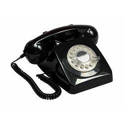 Telefon GPO RETRO 746 ROTARY crni